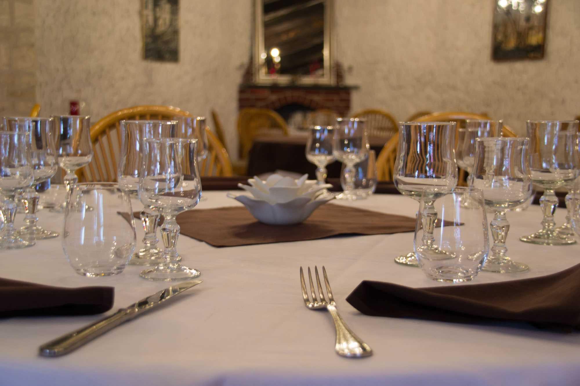 Pour vos évènements de groupes, repas de famille, mariages, vins d'honneur et baptêmes à blois